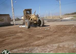 آغاز عملیات زیرسازی در فاز ۱ بنیاد مسکن اریسمان + تصاویر