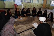 برگزاری آزمون روانخوانی قرآن در خانه قرآن اریسمان