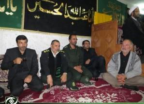 تصاویر/ حضور مسئولین در حسینیه های کوثر و مرکزی اریسمان