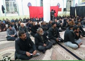 سومین مراسم شور و نوای حسینی در اریسمان + تصاویر