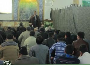 مراسم بزرگداشت وفات حضرت معصومه (س) در مسجد جامع اریسمان + تصاویر