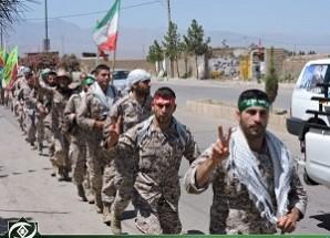 """مراسم استقبال از کاروان """"عاشقان حسینی زائران خمینی"""" در اریسمان برگزار شد + تصاویر"""