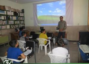 تصاویر/ کلاس آموزش کامپیوتر برای دانش آموزان ابتدایی اریسمان