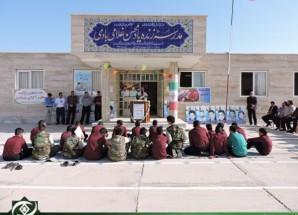 زنگ مهر و مقاومت در مدارس اریسمان طنین انداز شد + تصاویر