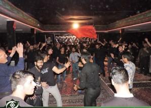 آخرین شب از مجالس سوگواری هیئت قاسم بن الحسن (ع) اریسمان برگزار شد + تصاویر