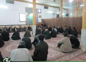 تصاویر/ مراسم گرامیداشت شهادت حضرت زهرا (س) در مسجد جامع اریسمان